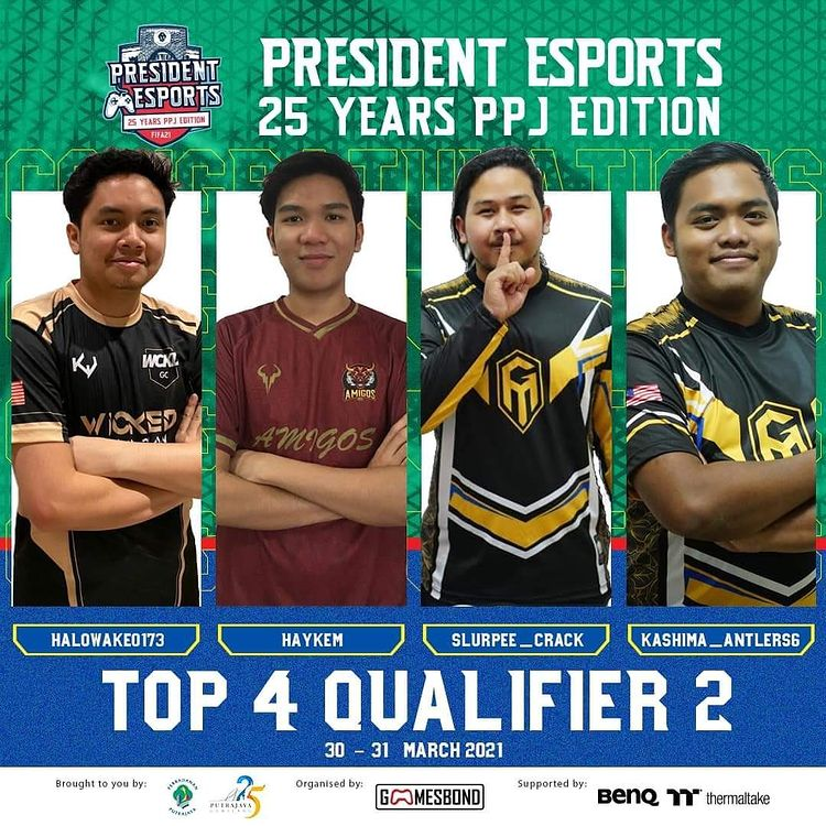 President Esports 25 Years PPJ Edition qualifier 2